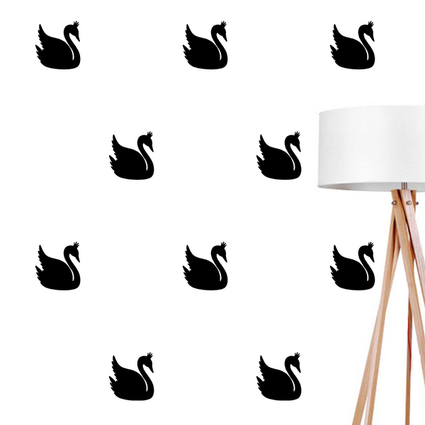 Swan, Wall Decal