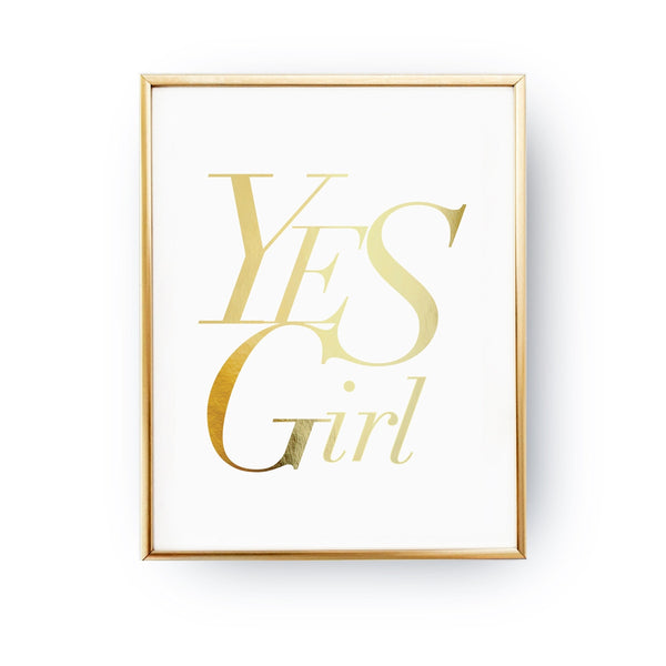 Yes girl, Poster