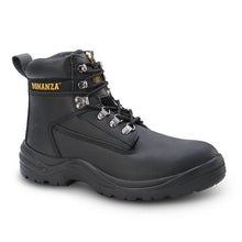 BAT-618 Black - Bonanza Work Boots