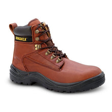 BAT-618 Brown - Bonanza Work Boots