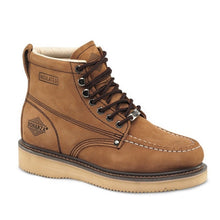 BAT-630 Nubuck Brown - Bonanza Work Boots