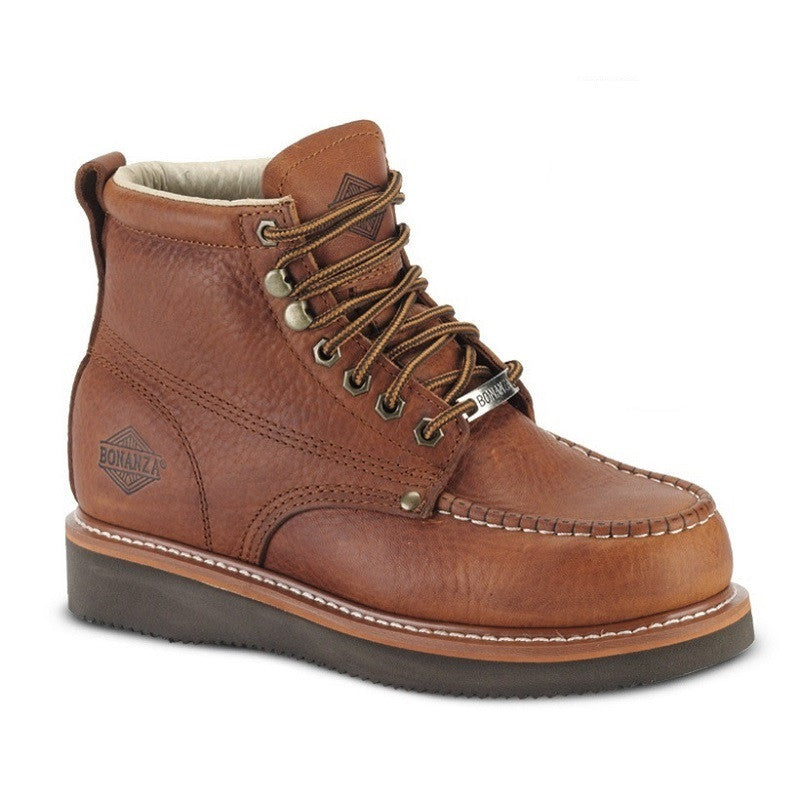 BAT-630 Light Brown - Bonanza Work Boots