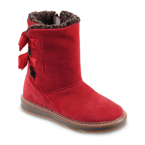 DG-1171 - Red Nubuck Leather - Dogi® Kids Winter Boots