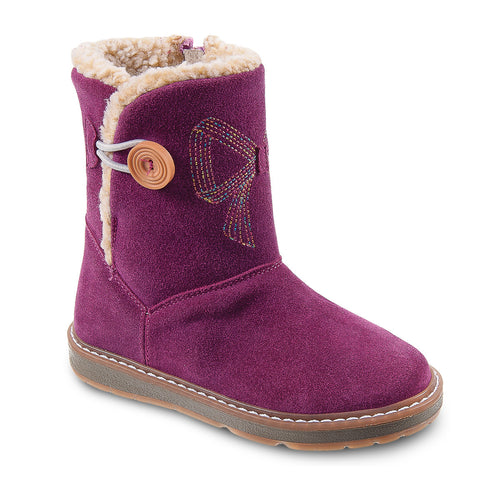 DG-1172 - Violet Nubuck Leather - Dogi® Kids Winter Boots