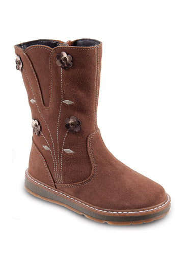 DG-1176 - Camel Nubuck Leather - Dogi® Kids Winter Boots