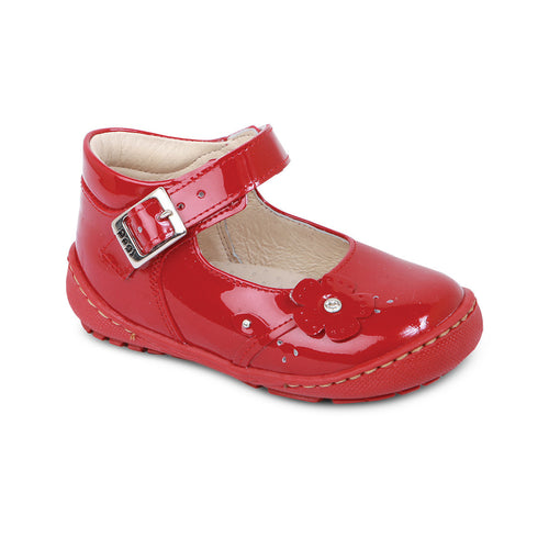 DG-1230 - Ruby Red Patent Leather - Dogi® Kids Shoes