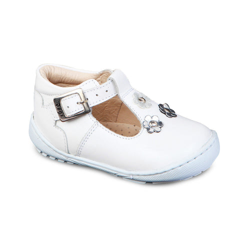 DG-1233 - White Genuine Leather - Dogi® Kids Shoes
