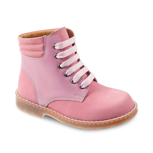 DG-1403 - Lilac Nubuck Leather - Dogi® Kids Winter Boots