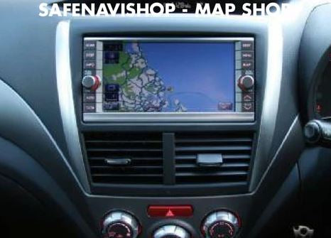 Latest 2019-2020 Subaru Core 2 Sat Nav Maps
