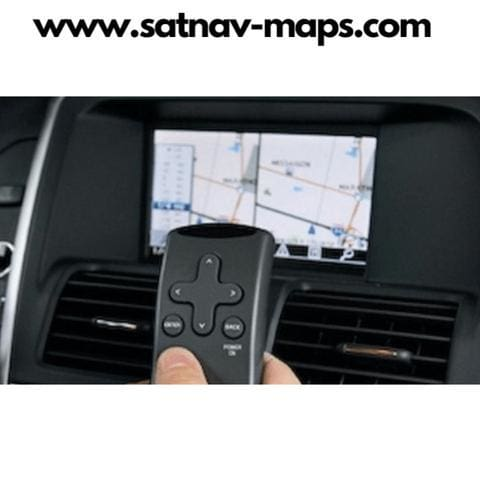 DVD Volvo navigation map RTI MMM+ HDD 2018 Europe