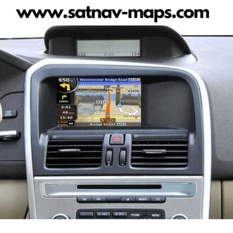 DVD Volvo Navigation Map RTI MMM2 2017-2018 Europe update