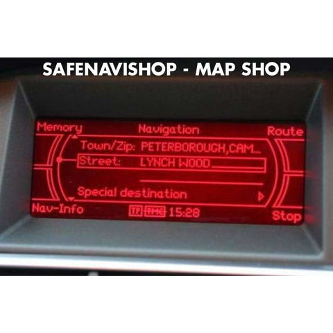 CD Audi MMI satnav Navigation basic plus Europe disc
