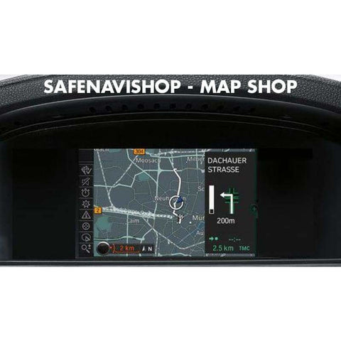DVD BMW Business Europe Navigation sat nav disc 2018