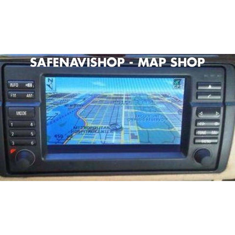 DVD BMW HIGH Navigation Europe maps 2019