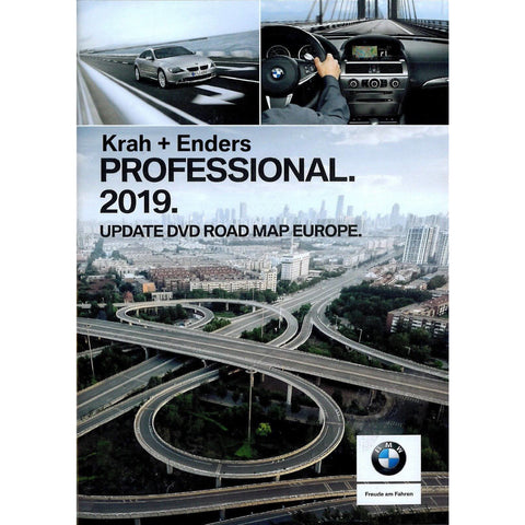 DVD BMW Navigation Road Map Professional Europe 2019