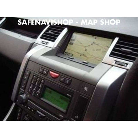 DVD Land Rover navigation 2018 Sat nav map denso Europe