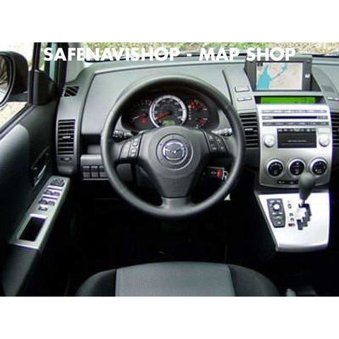 DVD Mazda navigation Denso 2017-2018 navigation Map Europe Last update