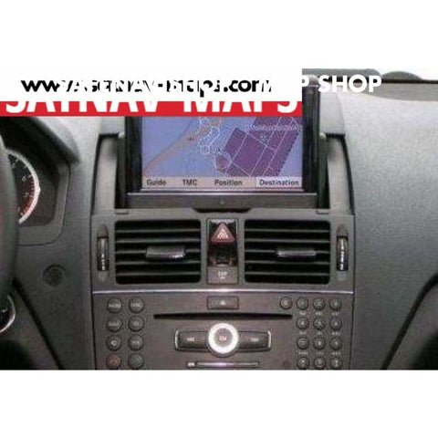 DVD Mercedes comand APS sat nav map Europe NTG4 V12 2015 A2048270965