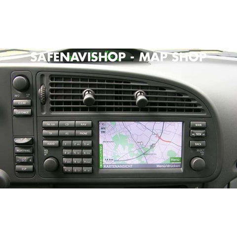 DVD SAAB 93 SDAL navigation Update map disc