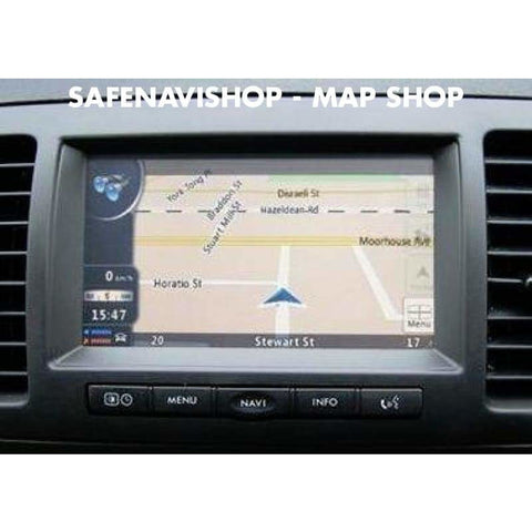 DVD Subaru Core1 Navigation Map Update sat nav disc map 2018