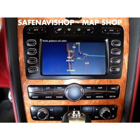DVD navigation Bentley sat nav disc Europe Maps 2019