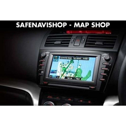 DVD navigation map MAZDA KENWOOD DV3200 Europe 2018 Last update