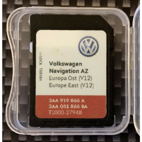 SD Card 2020 v12 VW Skoda Seat Rns315 Amundsen az east europe navigation latest