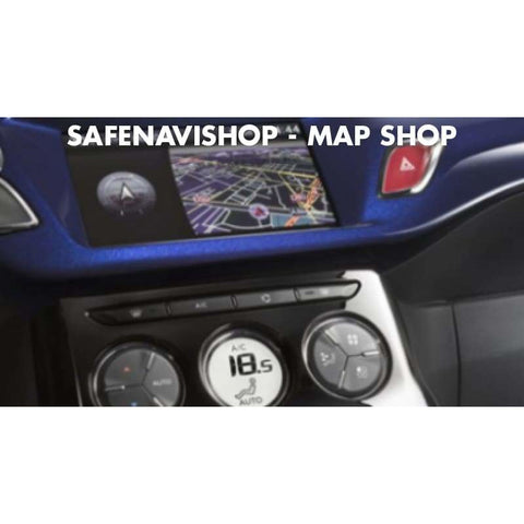 eMyWay Peugeot Citroën RT6 Europe 2018-2 USB Navigation Map