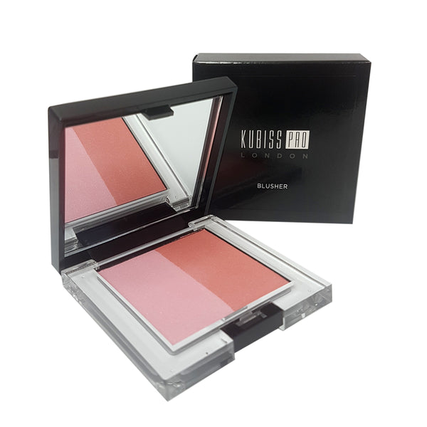 Kubiss Pro London Blusher No. 2 Shy Lady