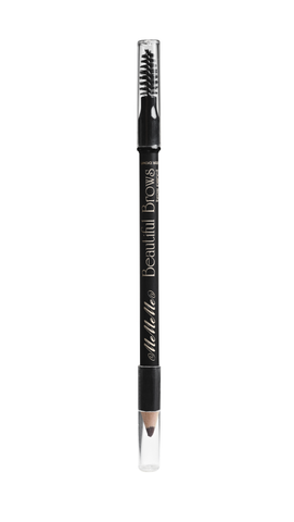 Beautiful Brows Brow Pencil & Spoolie - Dark Brown