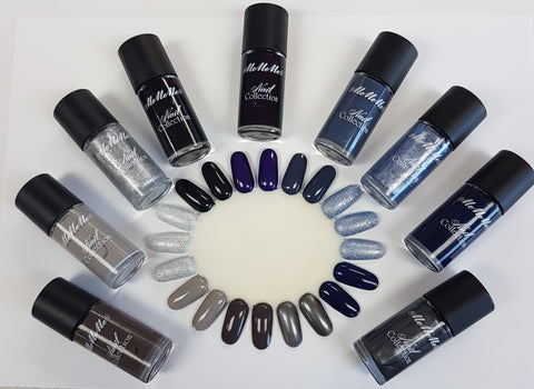 Nail Polish Bundle - Shades Of Blue