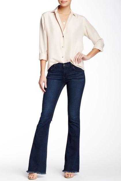 Stevie Midrise Flare Jeans