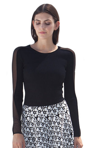 Arkane L/S Cropped Top