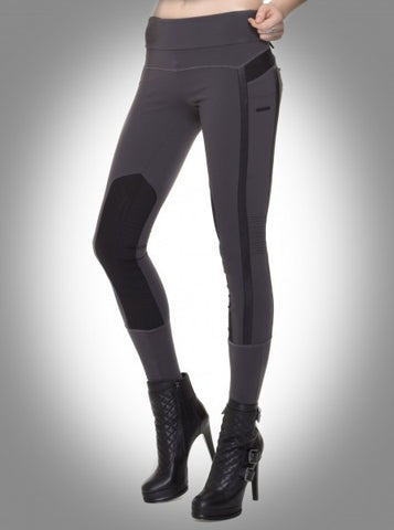 Performance Mesh Paneled Leggings