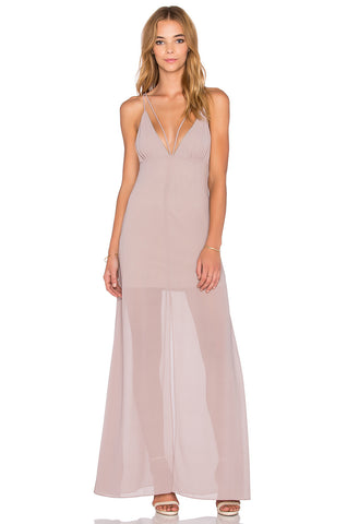 Stay With Me Plunge Maxi