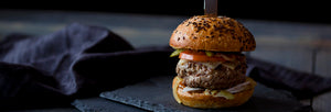 Rock your Barbecue with The Big Easy Stuffed Burger