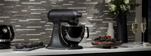 NOW IN STOCK - KitchenAid Artisan Black Tie Limited Edition Stand Mixer