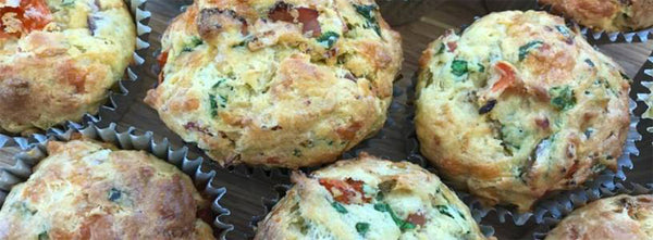 Back to School Savoury Lunchbox Muffins
