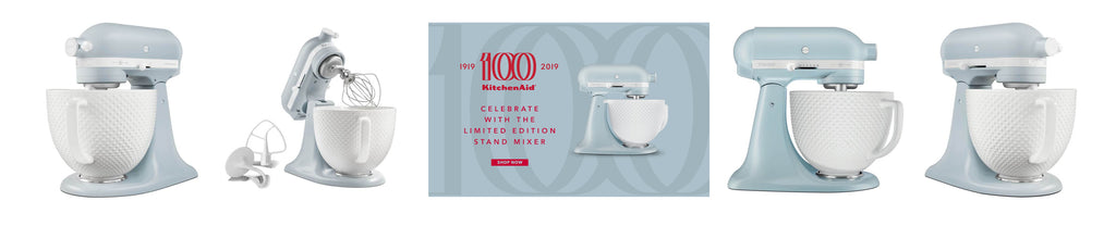 Buy KitchenAid Artisan Heritage 100 Years Celebration Stand Mixer at Potters Cookshop