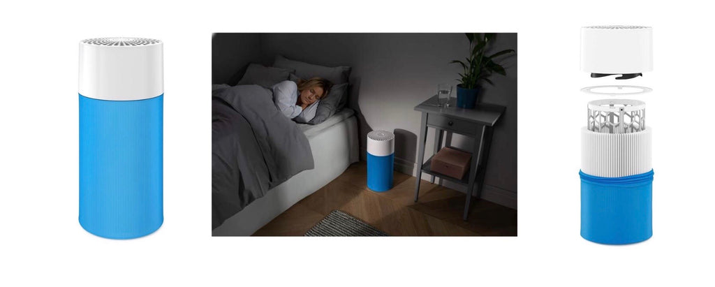Buy Blueair air purifier at Potters Cookshop. Kill germs, flu and allergens.
