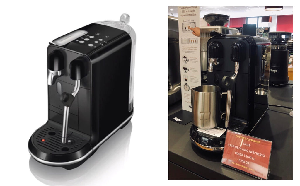 Buy Sage Appliances Creatista Uno Coffee Machine at Potters Cookshop