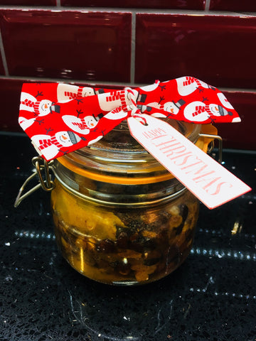 How to make Christmas Pudding Vodka Liqueur Blog by Potters Cookshop Essex