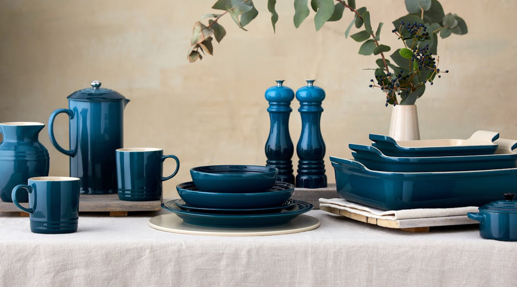 Buy Le Creuset Deep Teal at Potters Cookshop