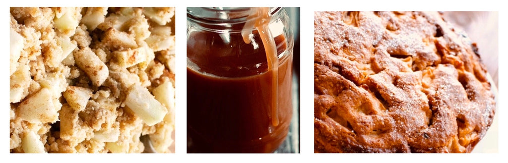 Autumnal Apple & Sultana Caramel Cake recipe - Potters Cookshop