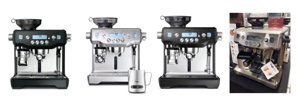 Buy Sage Appliances Oracle Coffee Machine at Potters Cookshop