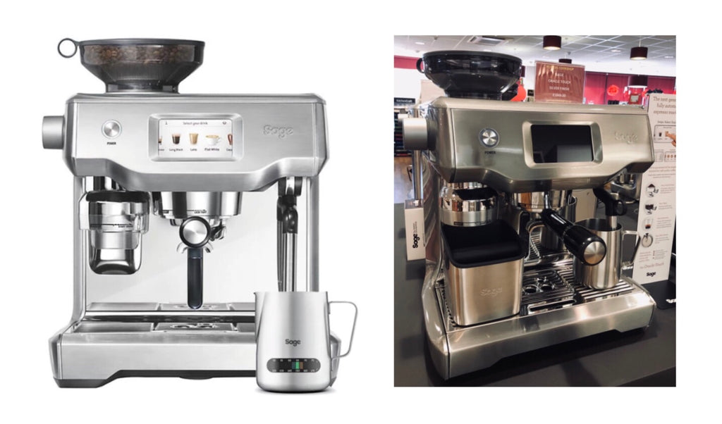Buy Sage Appliances Oracle Touch Coffee Machine at Potters Cookshop
