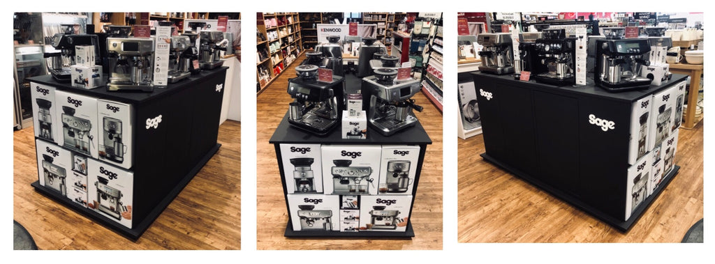 Buy Sage Appliances Coffee Machine at Potters Cookshop