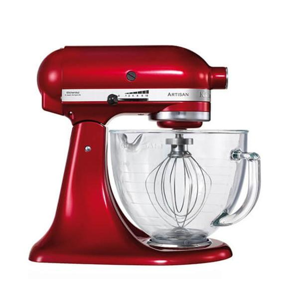 Buy KitchenAid Candy Apple Glass Bowl Stand Mixer at Potters Cookshop