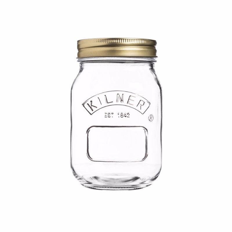 Kilner 500ml Glass Preserving Jar With Lid