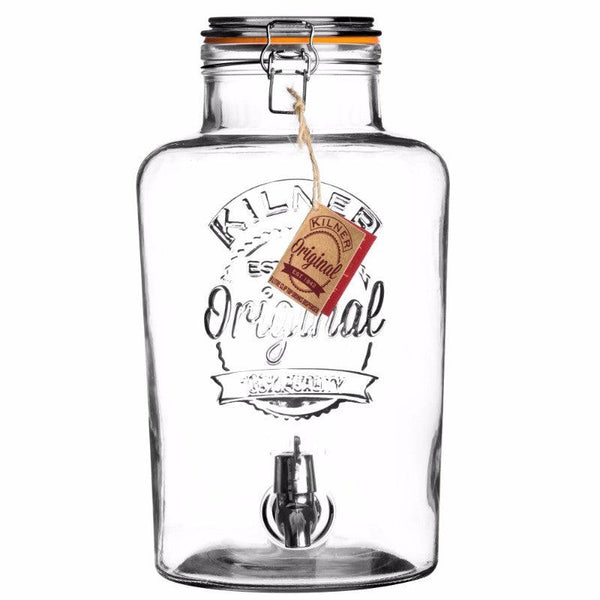 Kilner Round Drinks Dispenser - 8 Litre